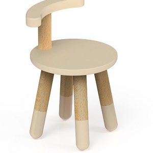play and learn chair warm beige